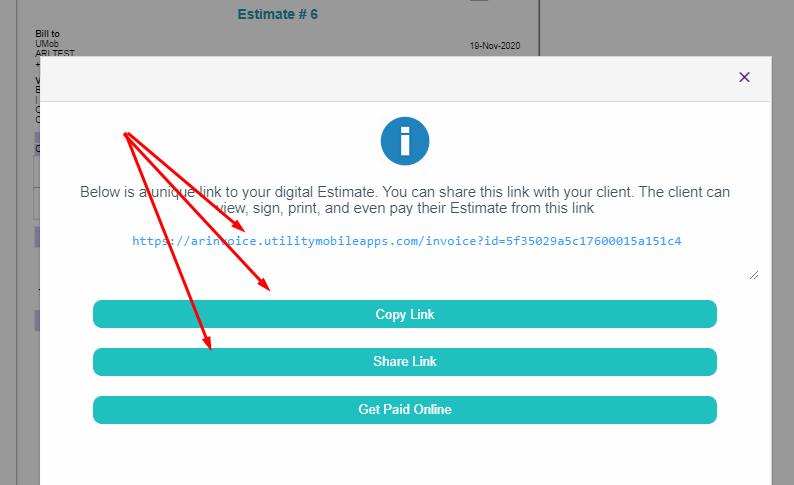 share auto repair digital estimate