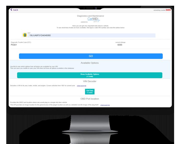 auto repair software features : vehicle management diagnosis ARI